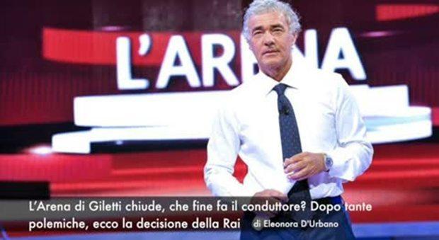 Massimo Giletti dice addio all'Arena, la Rai chiude il programma