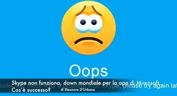 Skype down martedì 20 giugno: ecco cosa sta succedendo in Europa