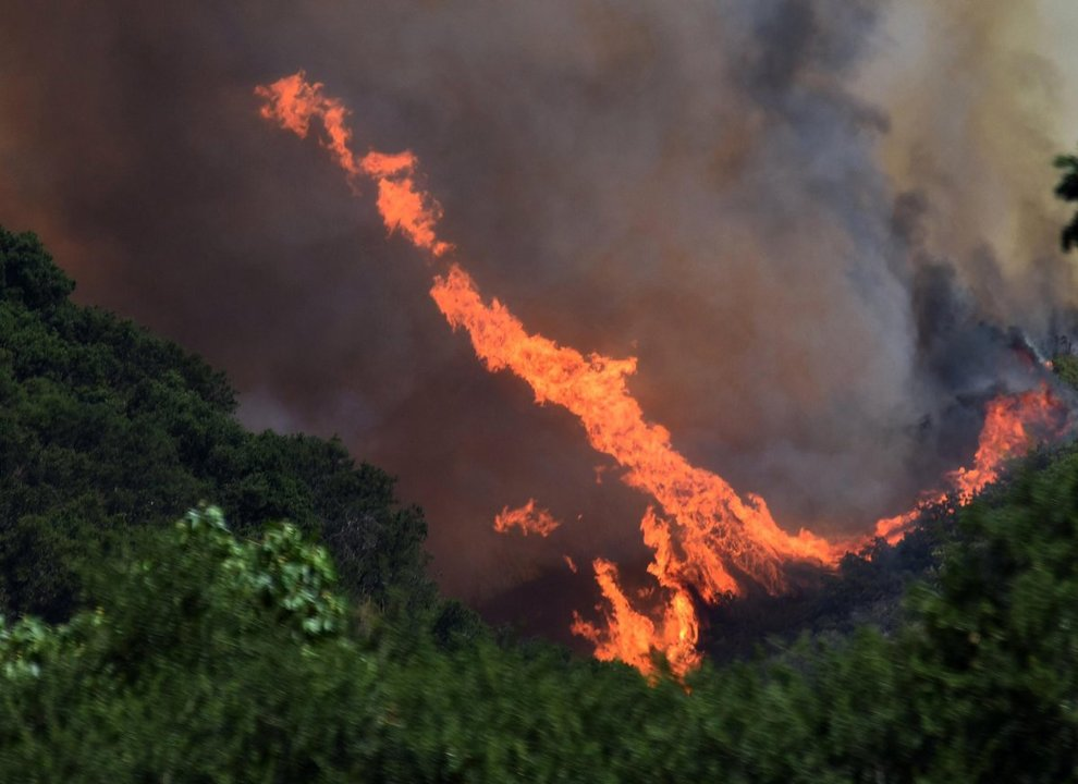USA, emergenza incendi: California in fiamme
