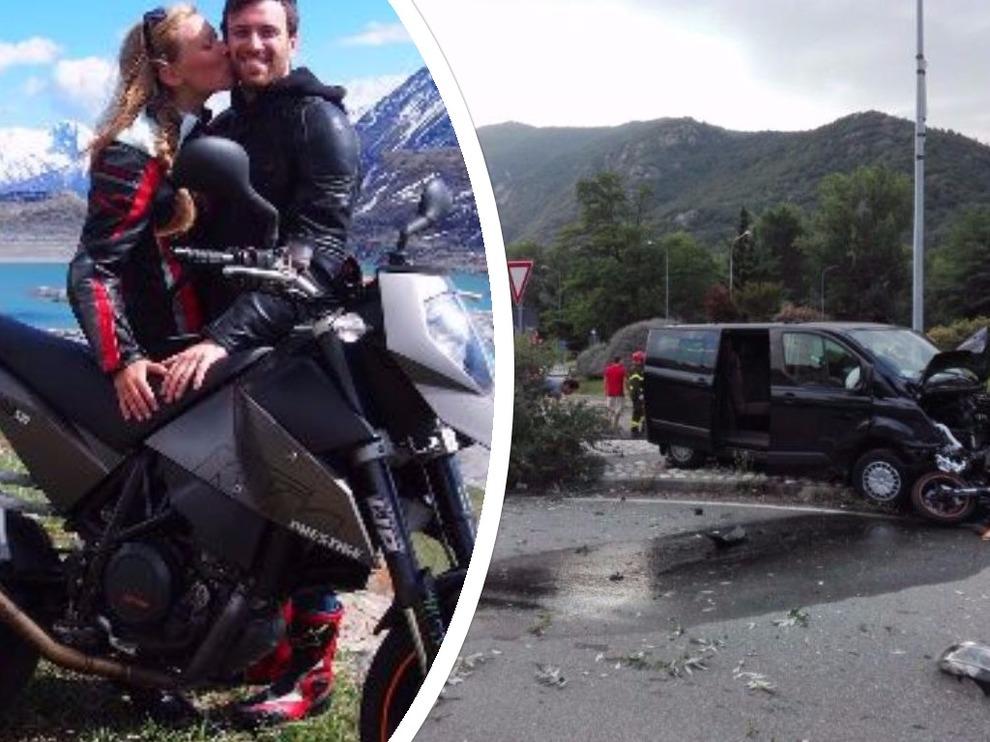 Furgone investe Moto dopo lite: morta ragazza di 27 anni