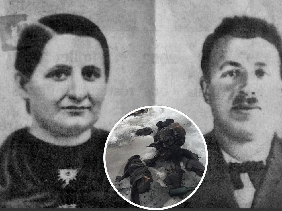 La coppia svizzera ritrovata dopo 75 anni in un ghiacciaio