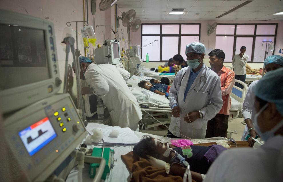 India, 60 bambini morti in un ospedale negli ultimi cinque giorni
