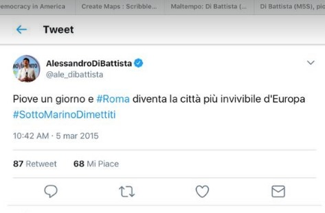 Roma allagata, Virginia Raggi: