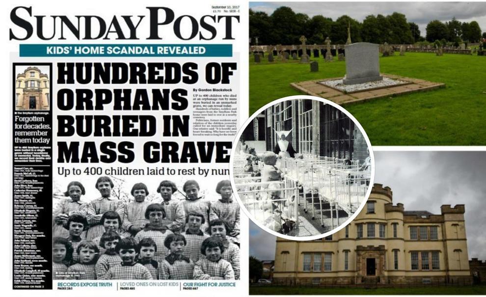 Scoperta fossa comune in Scozia con 400 corpi di bambini