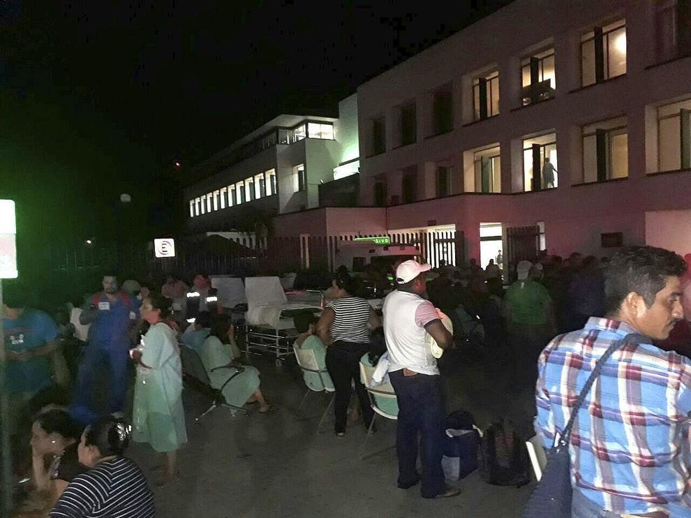 Terremoto di magnitudo 8,2 in Messico