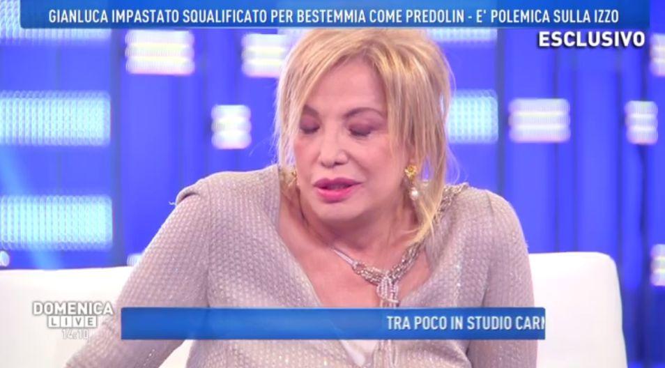 Malore in diretta a Domenica Live: Barbara D'Urso soccorre l'ospite