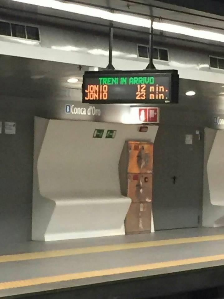 Il treno parte con 20 secondi di anticipo l 39 azienda ci for Secondi romani