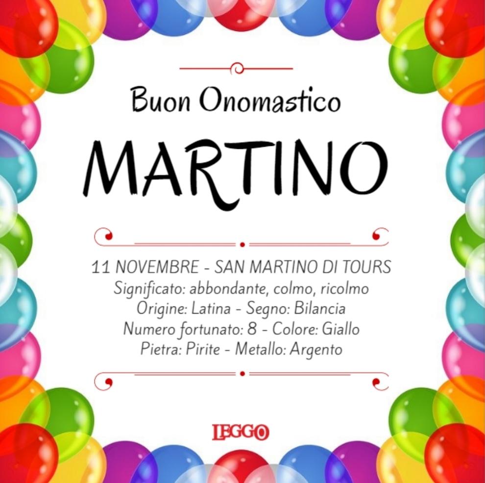 Giorno Di San Martino Calendario.San Martino Onomastico Dell 11 Novembre Significato E Frasi