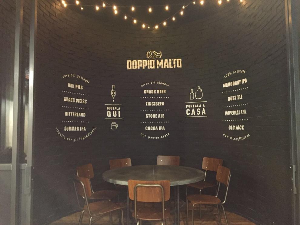 Doppio malto l 39 arte della birra artigianale nel cuore di roma roma - Erbusco in tavola 2017 ...