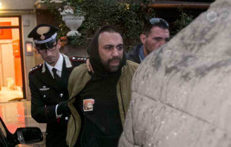 Ostia. Spada fermato dai carabinieri: lesioni aggravate da contesto mafioso