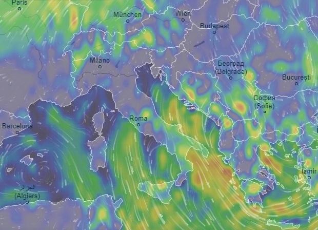 Maltempo, temporali, vento e calo delle temperature su tutta la Regione