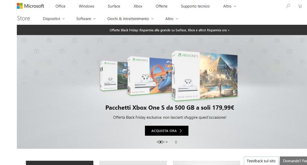 Disponibili nuove offerte sul Surface Pro — Microsoft