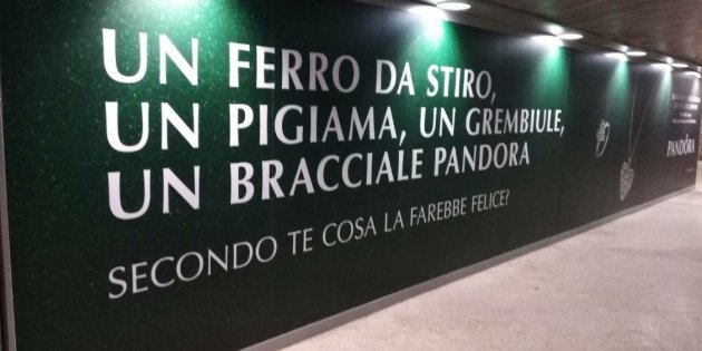 La pubblicità di Pandora accusata di sessismo