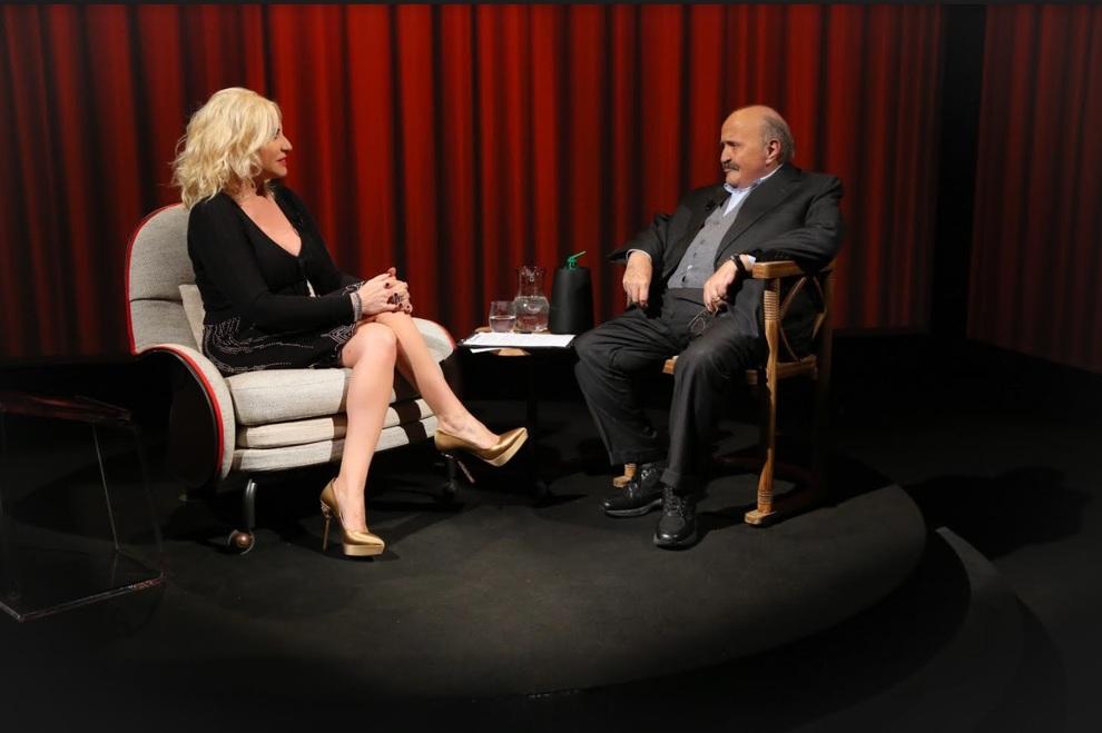 L'Intervista di Maurizio Costanzo con ospite Antonella Clerici