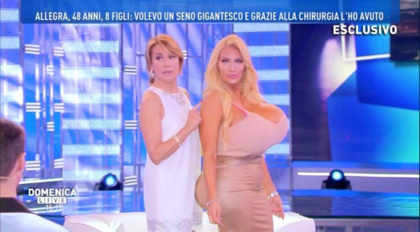 Paola Caruso: la confessione a Domenica Live