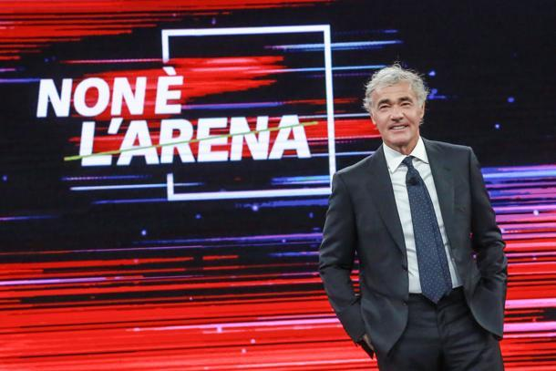 Non è L'Arena puntata 21 gennaio con Silvio Berlusconi e Efe Bal