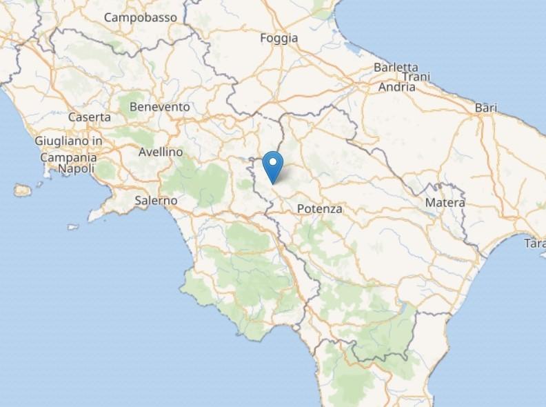 Terremoto tra Basilicata e Campania: scossa del 2.4 a Muro Lucano