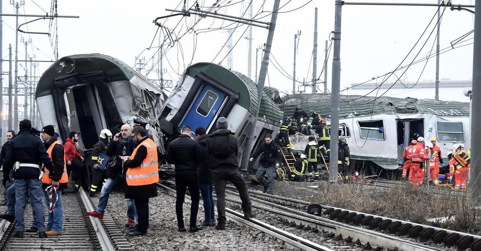 Bilancio sempre più pesante per il deragliamento del treno regionale in Lombardia