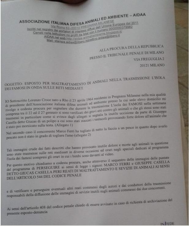 Animali maltrattati sull'Isola: denunciati Giucas Casella e Marco Ferri