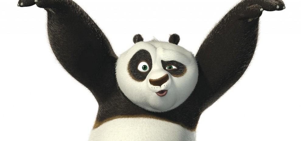 Кунг фу панда раскраска кистью меня пытались