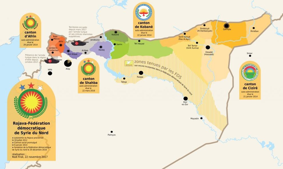 La Turchia bombarda la strada che porta al valico di Afrin