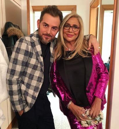 Paola Di Benedetto e Francesco Monte insieme