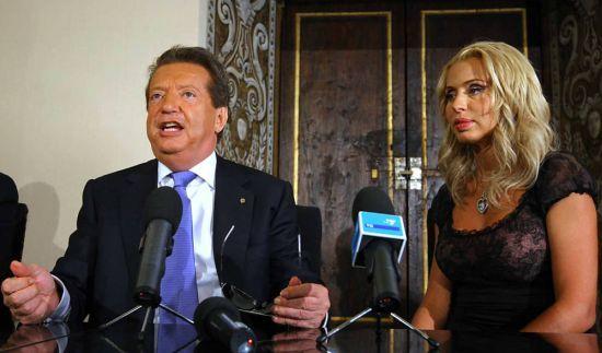 Dimesso dall'ospedale Vittorio Cecchi Gori