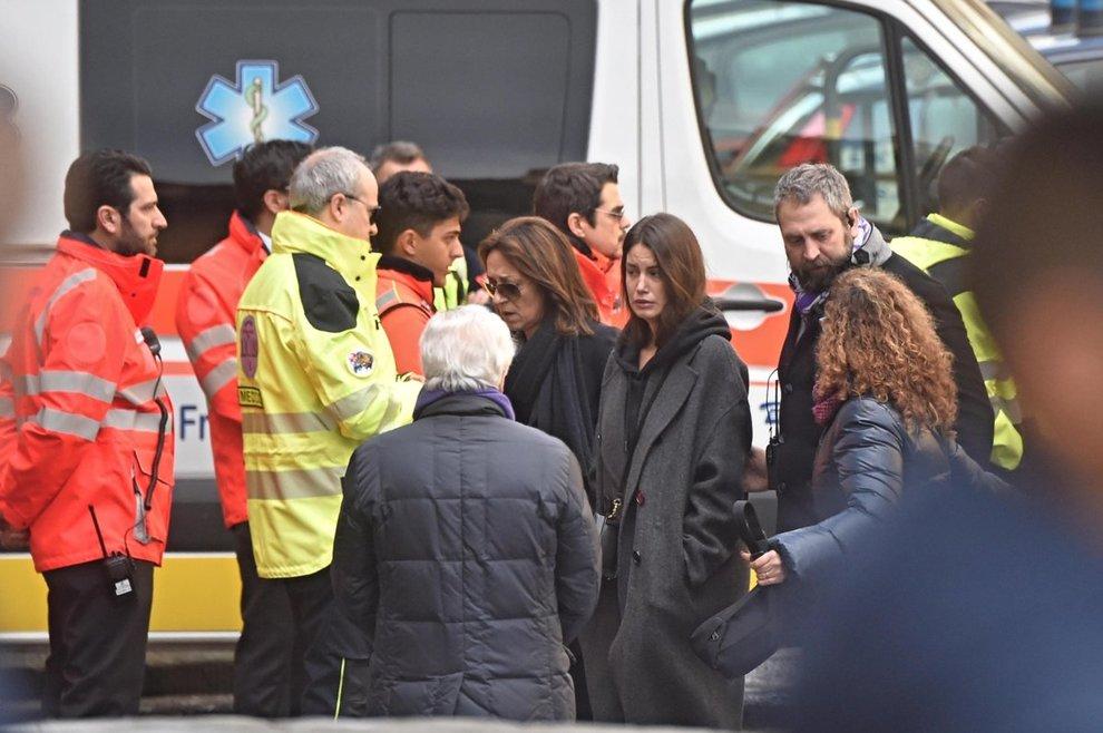 Funerali Astori il papà di Francesca Fioretti ha un malore in Chiesa
