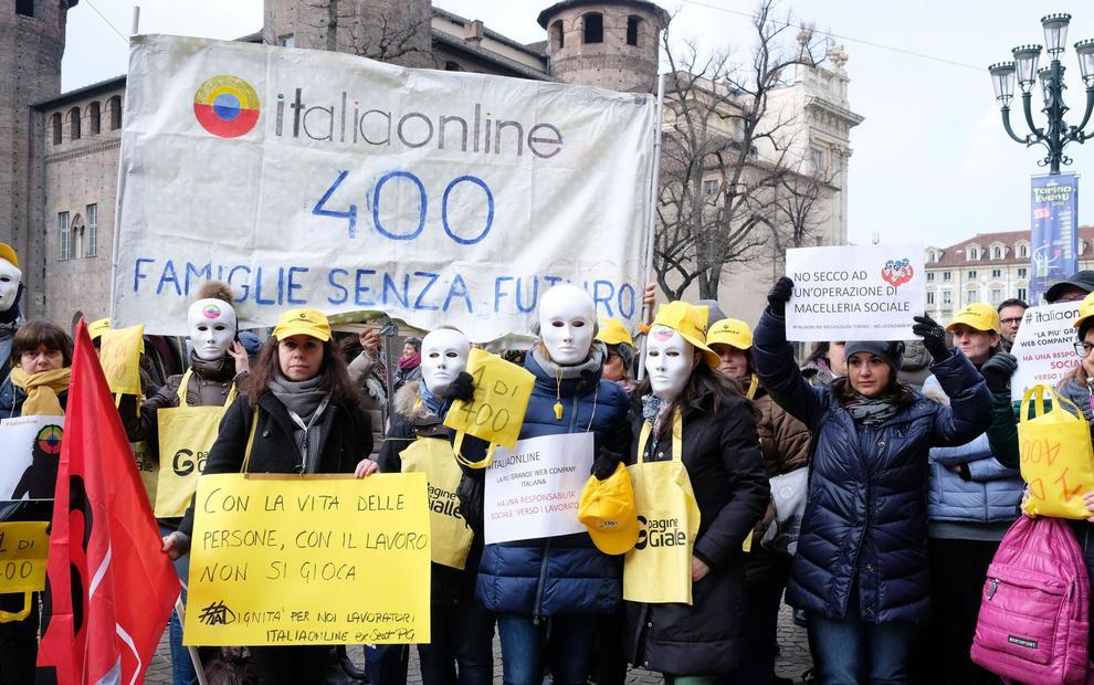 Italiaonline, congelati i licenziamenti: stop alle procedure per tre settimane