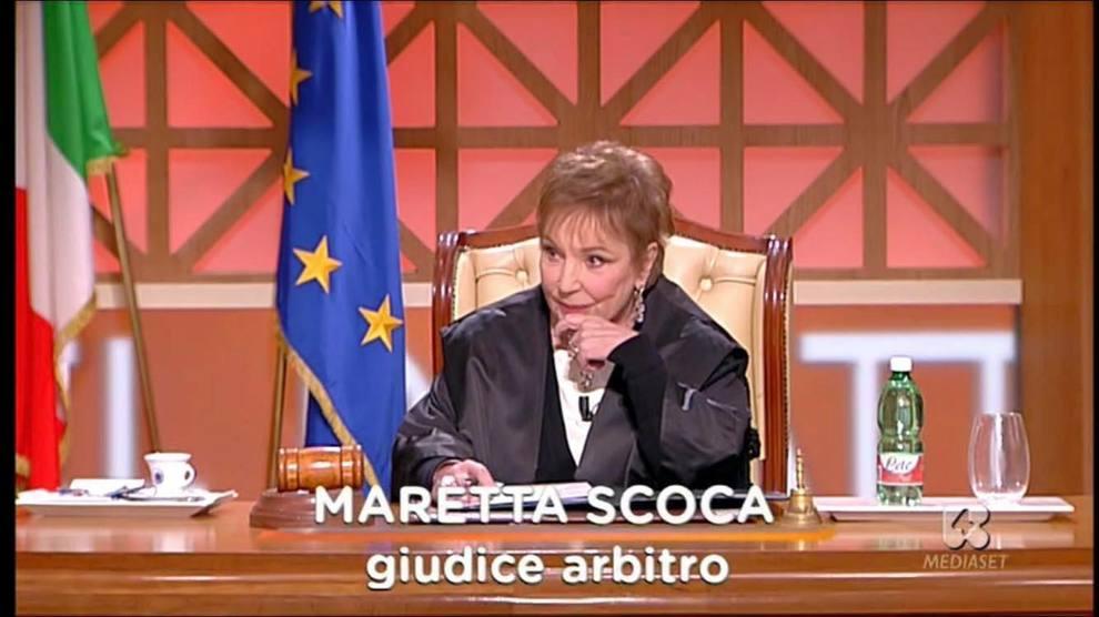 """Muore Maretta Scoca,dal 2007 giudice di """"Forum"""""""