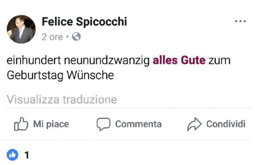 Ascoli Piceno, professore fa gli auguri di compleanno a Hitler su Facebook