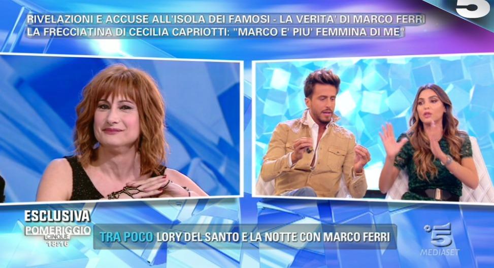 Marco Ferri è gay? La risposta del fashion blogger a Pomeriggio Cinque