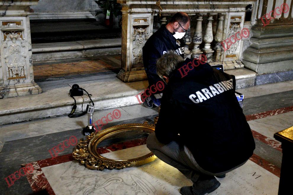 Rubato quadro nella Chiesa Nuova a Roma
