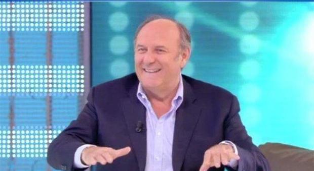 Domenica Live: Gerry Scotti si commuove ricordando Fabrizio Frizzi