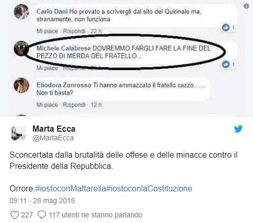 Mattarella: rottura su nome Savona all'Economia, non accettabile un esponente anti euro