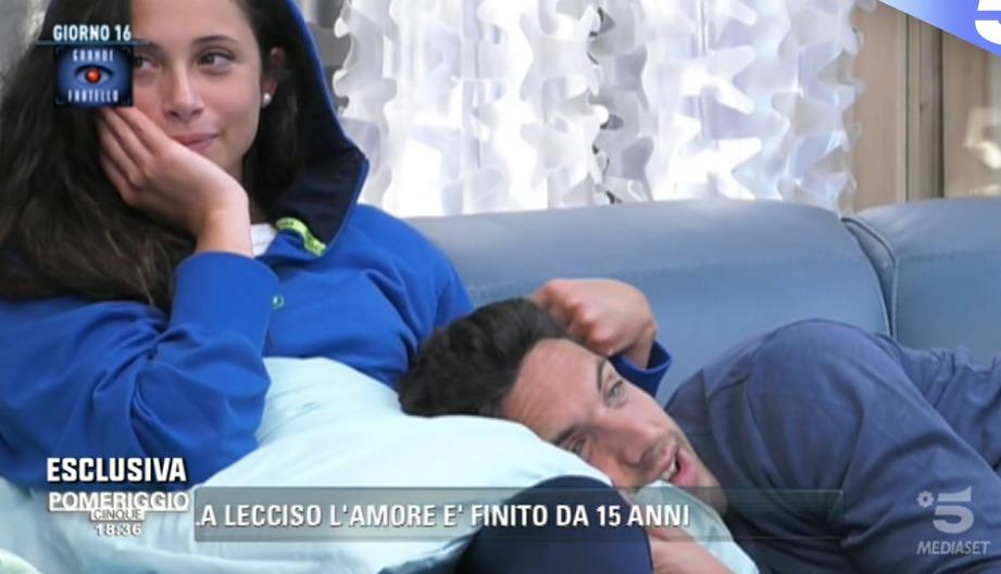 GF news, Alessia e Matteo sotto la pioggia: concorrenti emozionati
