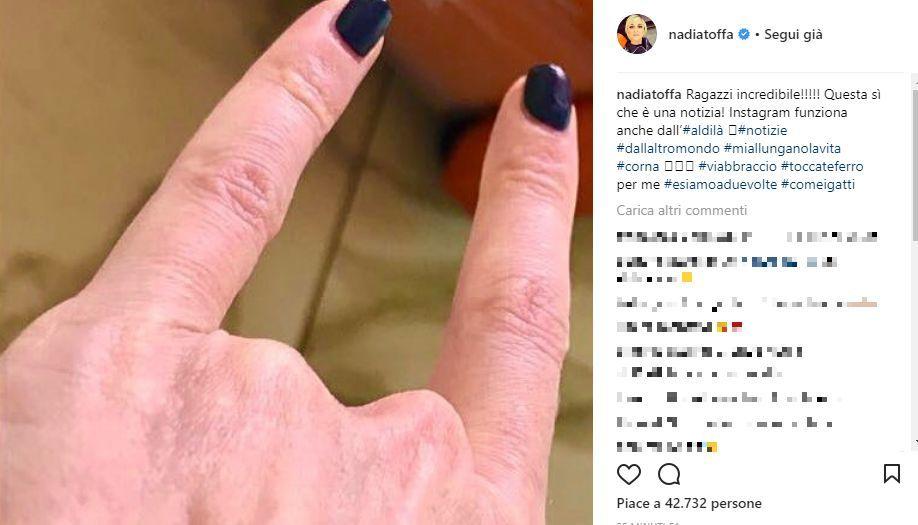 Nadia Toffa è Morta: bufala fake news della rete