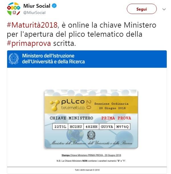 Maturità 2018, la prima prova di italiano, le tracce in diretta. L