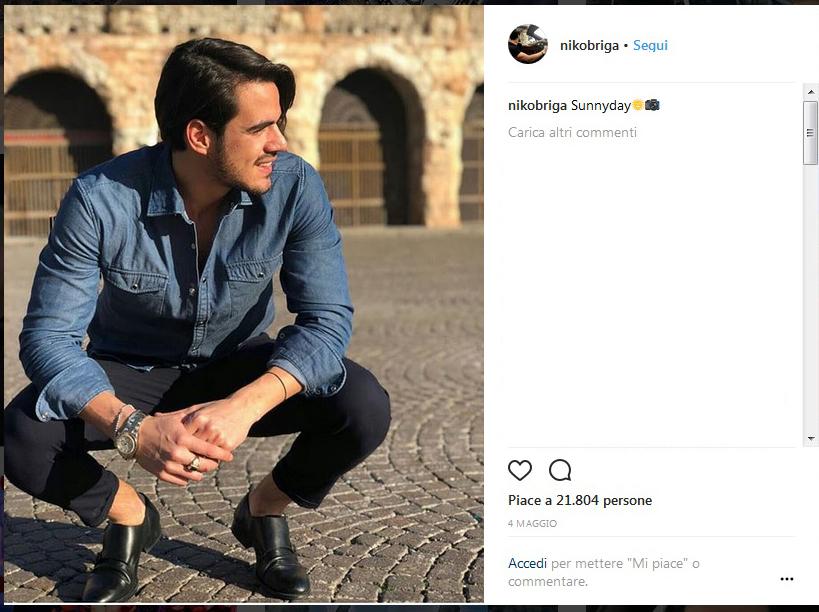 Luigi Mastroianni lascia i social, la reazione di Sara