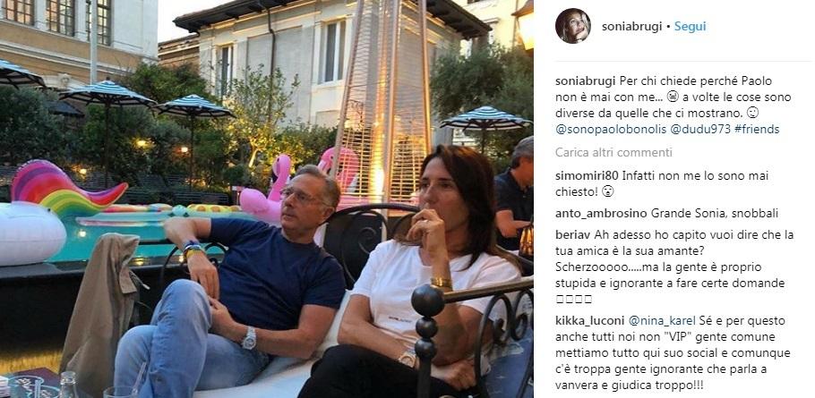 Sonia Bruganelli |  «Ecco perché Paolo Bonolis non è mai con me»