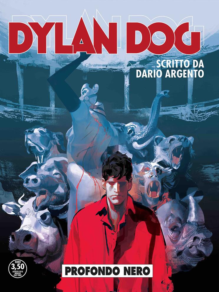Con dario argento dylan dog profondo nero l 39 esordio nel - Dylan dog attraverso lo specchio ...