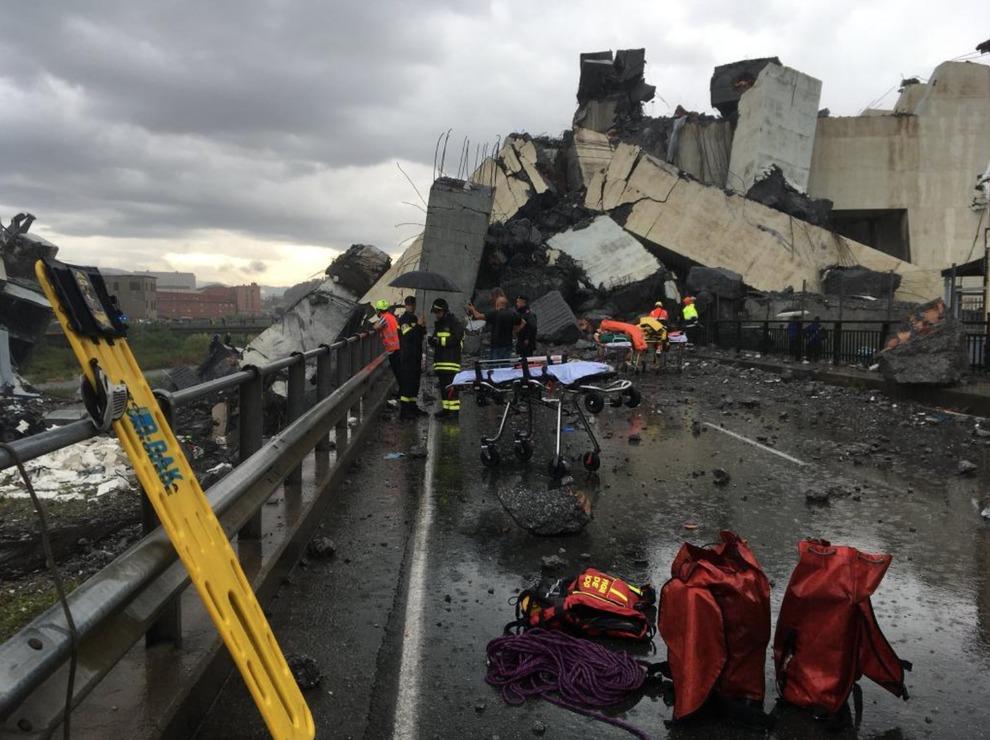 Ponte Crollato A Genova Autostrade Per Litalia Erano In