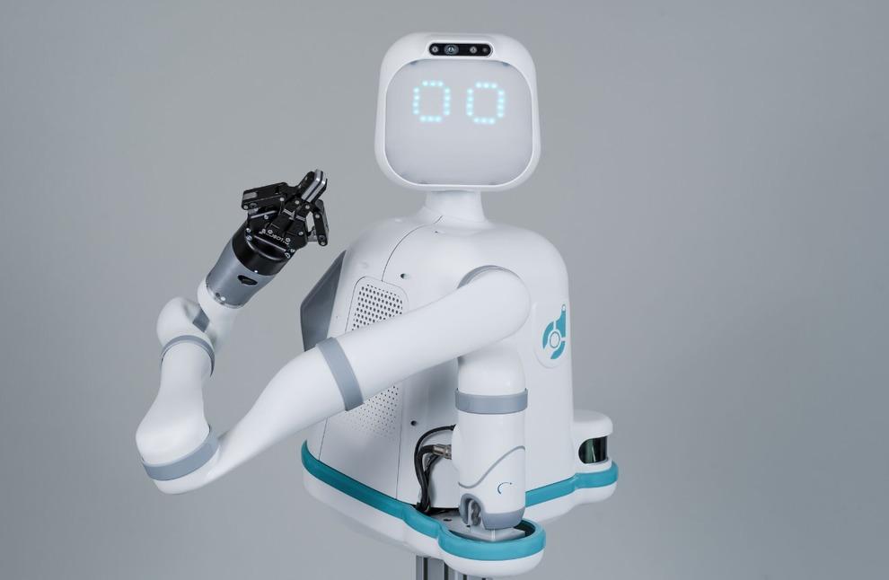 Moxi, il robot «amico» degli infermieri, arriva negli