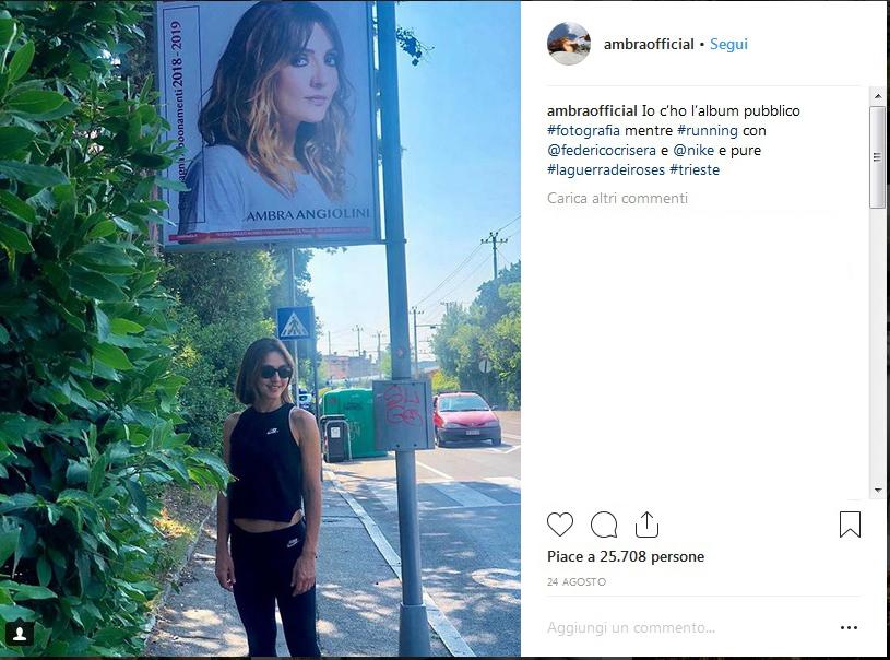 Ambra Angiolini: La bulimia, mia figlia e Max Allegri