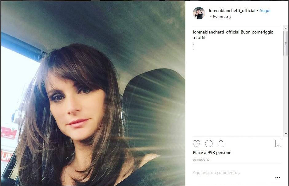 Lorena Bianchetti incinta a 44 anni: fiocco rosa per la conduttrice