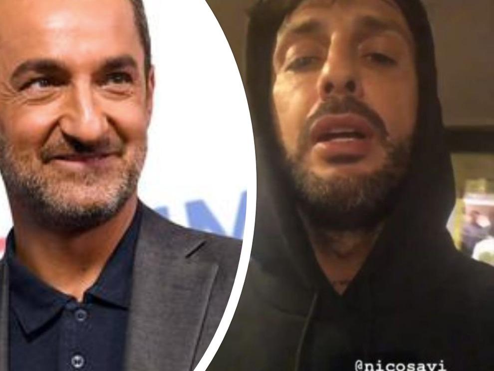 """Le Iene, Fabrizio Corona furioso con Nicola Savino: """"Ti ricordi quando mio padre…"""""""