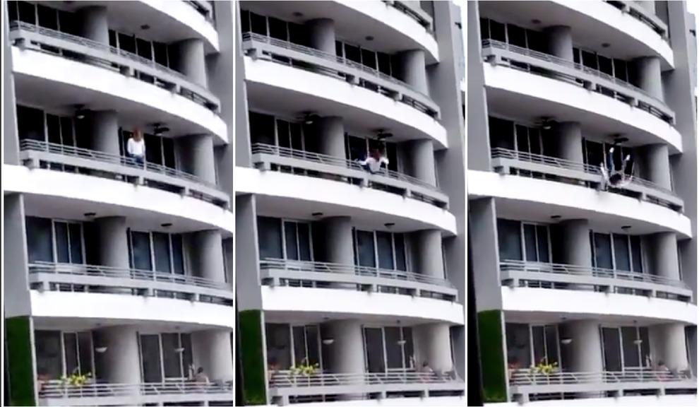 Si sporge dal balcone per un selfie, finisce in tragedia