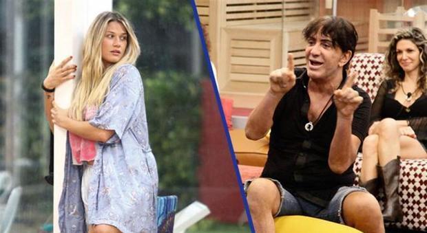 Ivan Cattaneo offende Benedetta Mazza: