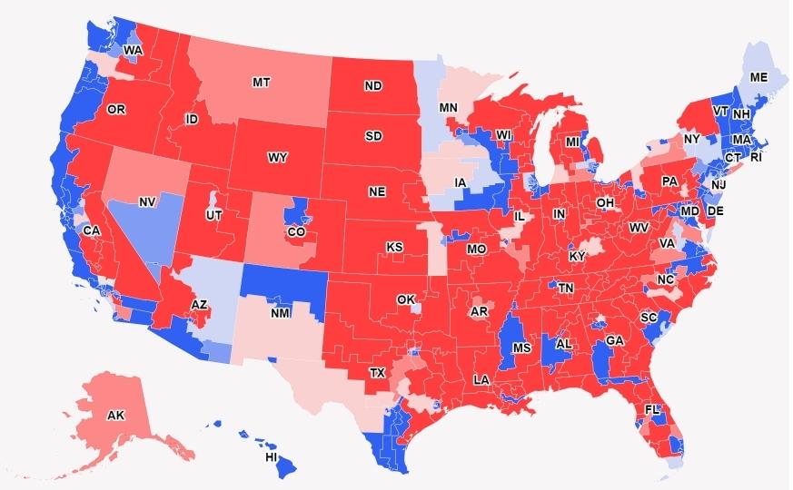 Elezioni Usa, ai Dem la Camera Senato rimane Reubblicano