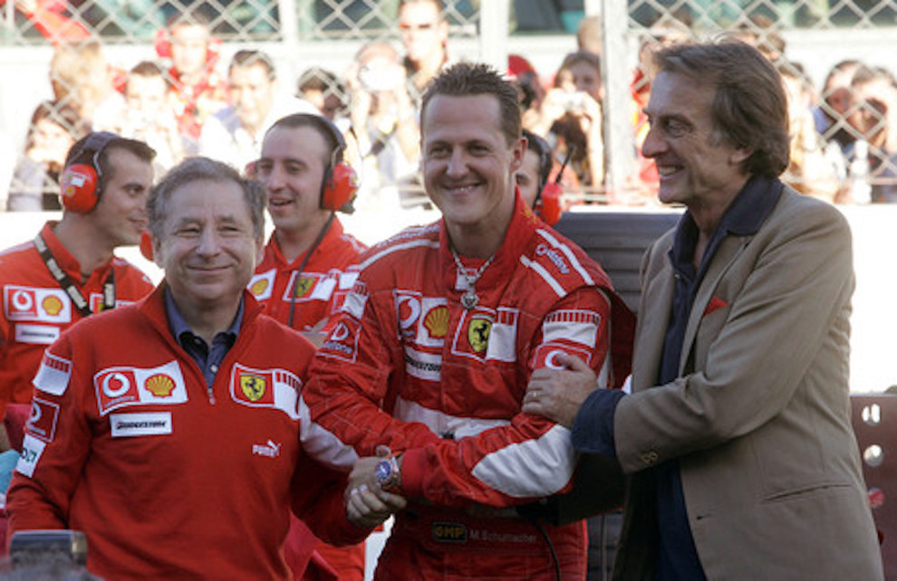 Todt a casa Schumacher: